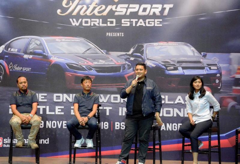 Dika CH apresiasi keseriusan Intersport dalam hal melahirkan bibit drifter baru yang berkualitas
