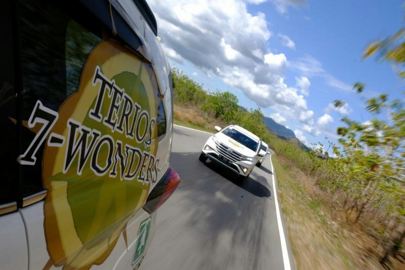 Ekspedisi Terios 7 Wonder kini merambah Maluku. (foto : ist)