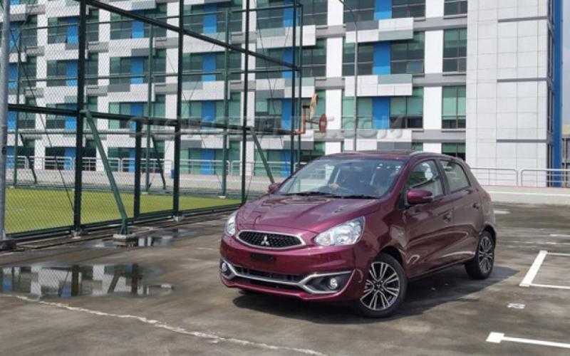 Mitsubishi Mirage jadi model hatchback satu-satunya bagi Mitsubishi di Indonesia. (foto: dok. Mobilinanews)