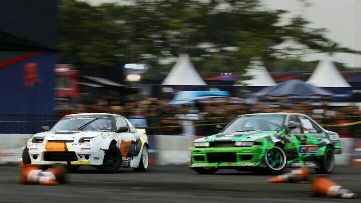 Intersport World Stage Qualifier tahun ini mampu gairahkan drift di Indonesia. (foto : ist)