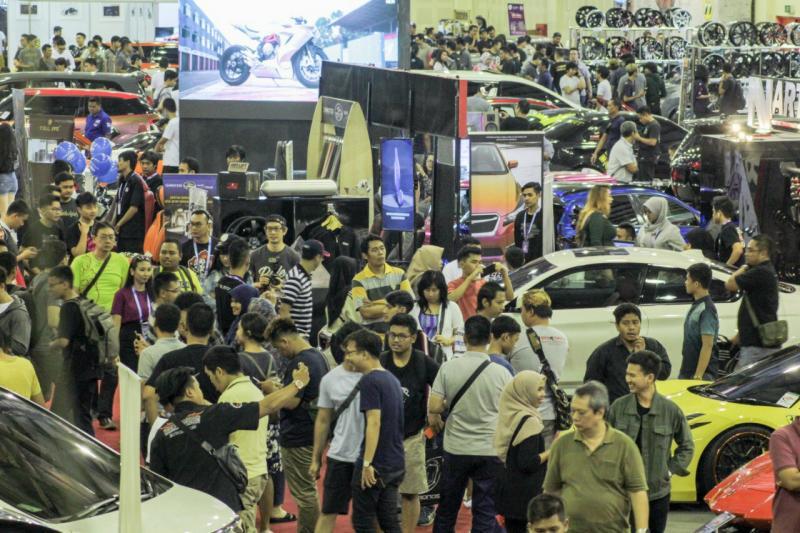 Indonesia Modification Expo yang pertama digelar di Jakarta sukses besar. (foto : ist)