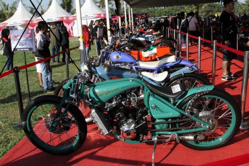 Honda Modification Contest berhasil menjaring ribuan peserta dari seluruh Indonesia. (foto: AHM)