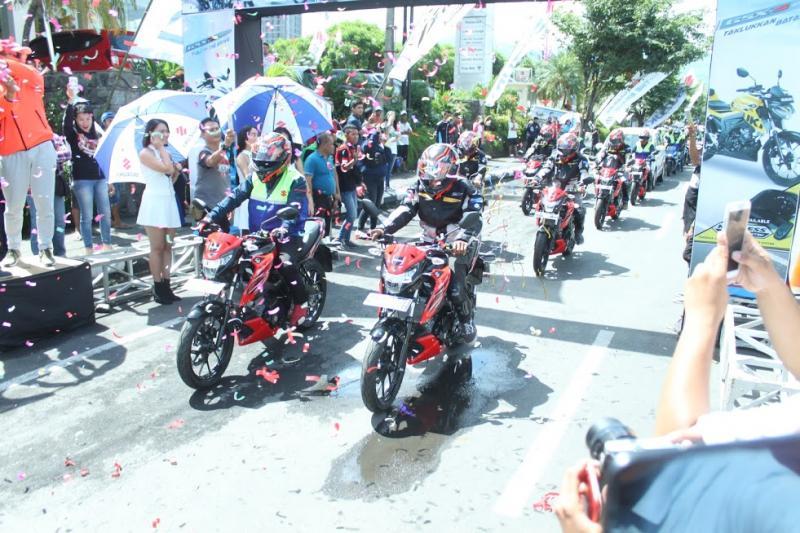 Suzuki GSX150 Bandit buktikan ketangguhannya jelajah berbagai tempat di Indonesia. (foto: Robert)