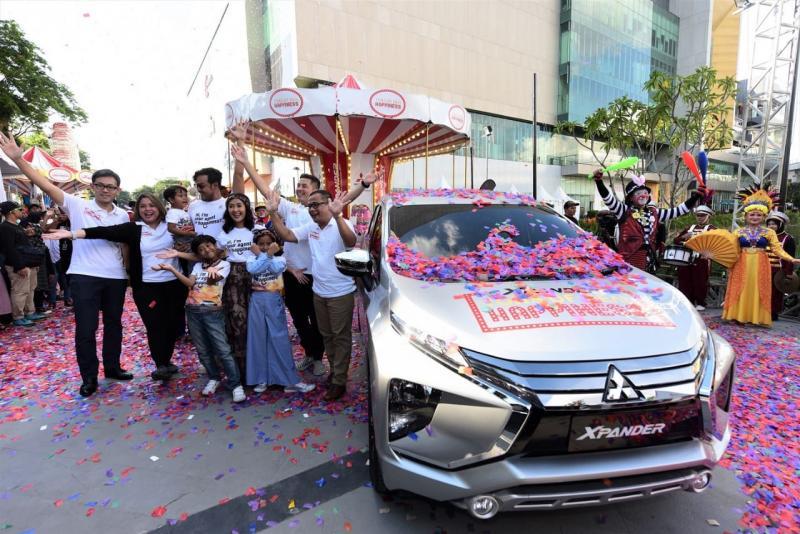 Warga Kota Palembang dapat mengunjungi Icon Mall untuk merasakan kebahagiaan Xpander. (foto: Diva)