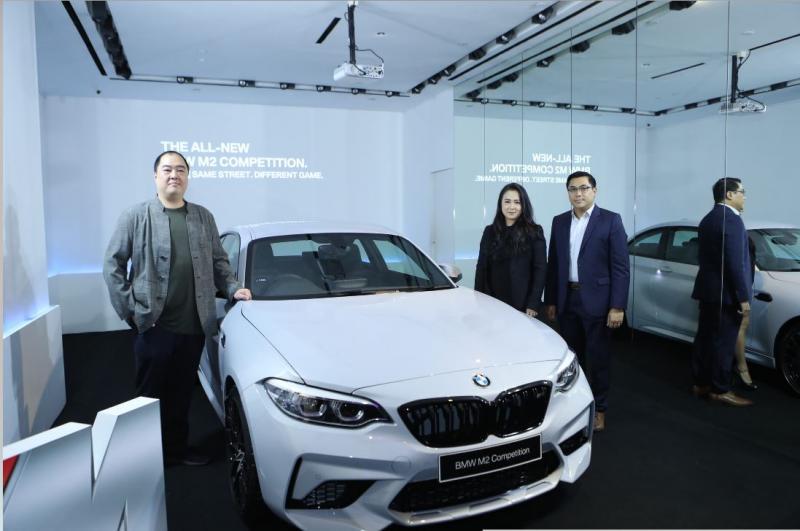 BMW M2 Competition jadi sportcar kompak pemuas dahaga penggemar performa tinggi. (foto: Josephine)