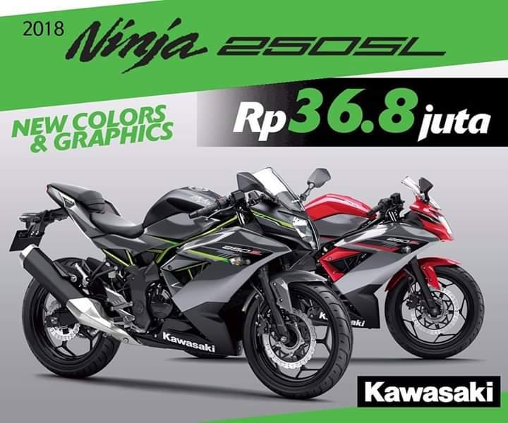 Kawasaki Ninja 250SL terbaru jadi pilihan menggiurkan di kelas motor sport fairing. (foto: Kawasaki)
