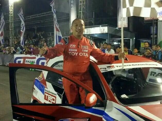 Adrianza Yunial, aset penting Toyota Team Indonesia. (foto : ist)