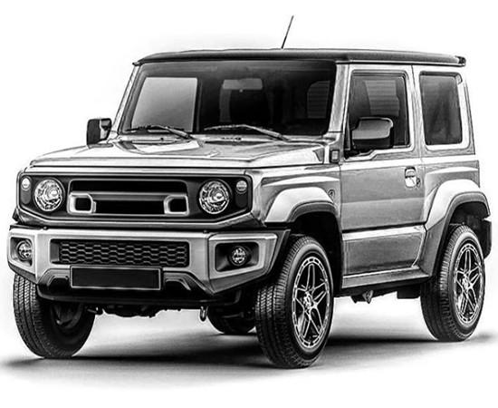 All New Suzuki Jimny banyak menarik minat rumah modifikasi di Jepang dan Mancanegara. (foto: carscoop)