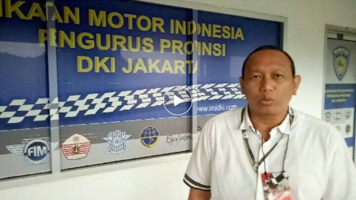 Anondo Eko, bikin gebrakan dan sejarah untuk IMI DKI Jakarta. (foto : bs)