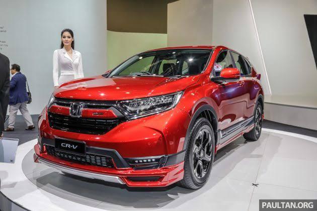 Honda CR-V Turbo Prestige dengan bodi kit Mugen tampil impresif. (foto: paultan)