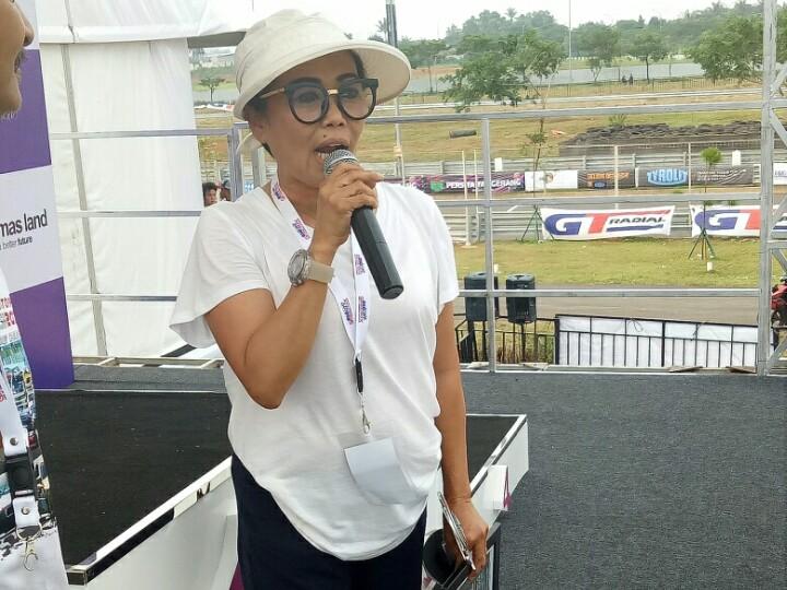 Lola Moenek, tahun depan kembali ada ISSOM Night Race dan street race. (foto : bs)