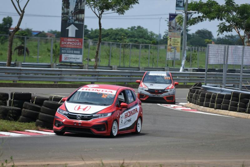Rio SB dari Honda Racing Indonesia kali ini harus puas sebagai juara kedua. (foto : hpm)