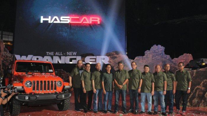 Jeep Wrangler terbaru meluncur di bawah keagenan baru. (foto: istimewa)