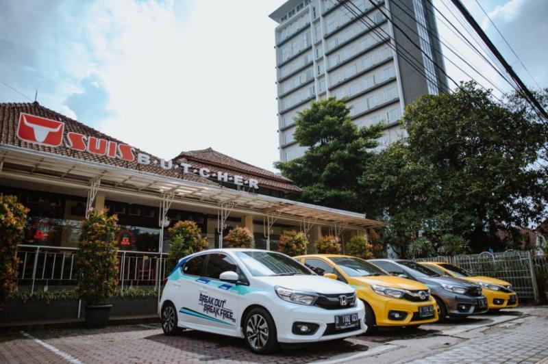 Honda Brio generasi kedua begitu digemari kalangan muda dan pecinta hatchback. (foto: HPM)