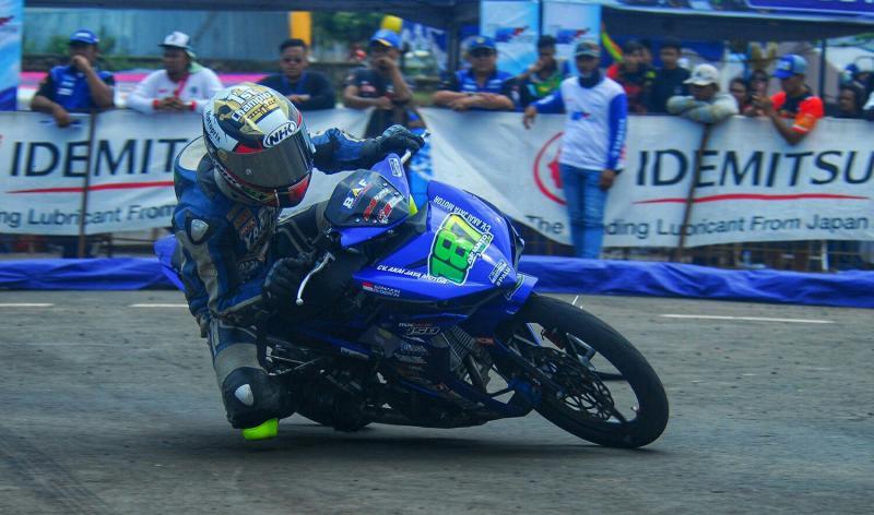 Arianto Tarzan pembalap asal Kalimantan dengan prestasi mentereng. (foto : ist)