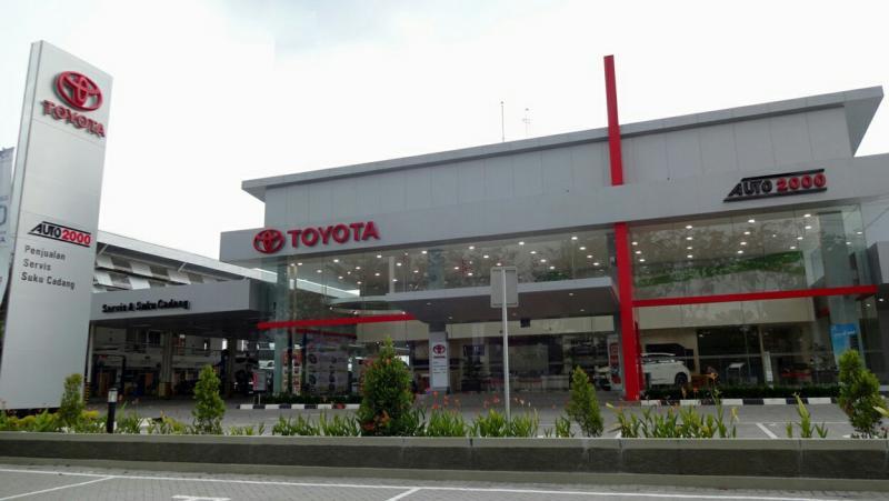 Outlet Auto2000, pilihan cerdas untuk memiliki mobil baru Toyota. (foto : ist)