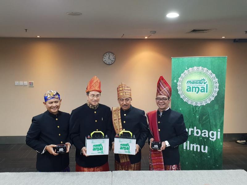 Grand Launching Aki Massiv Amal di Titan center Bintaro