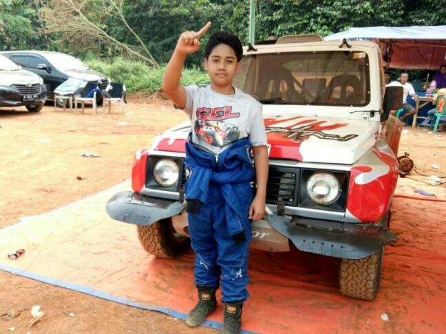 Bintang Barlean, anak ajaib dari Batam. (foto : bs)