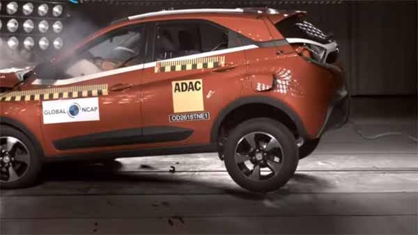 Prestasi Tata Nexon jadi tolak ukur baru dalam standar keselamatan di India. (foto: NCAP)