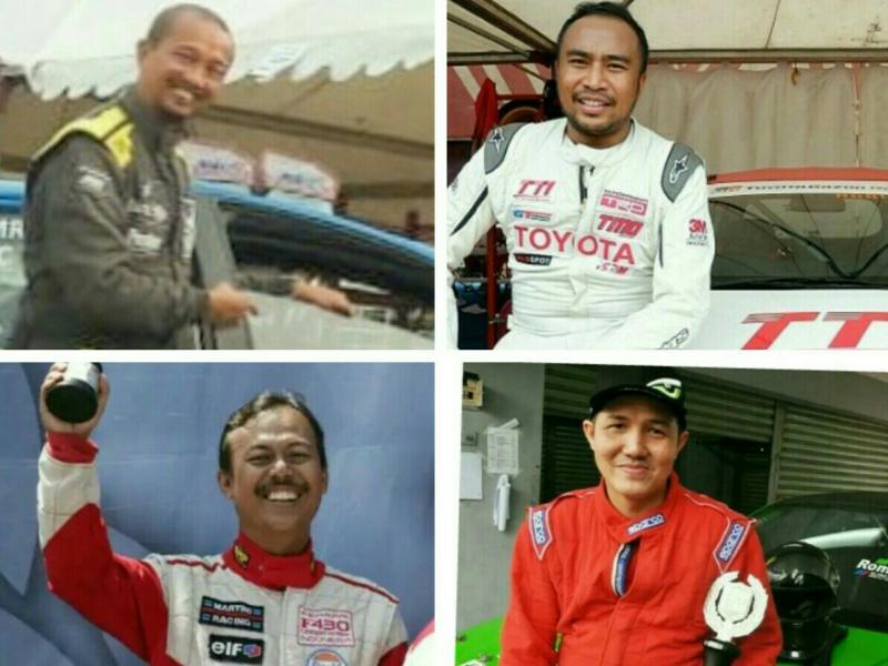 Searah jarum jam, dari kiri atas : Fitra Eri, Haridarma Manoppo, Denny Romel dan Bambang Hutomo. (foto : kolase)