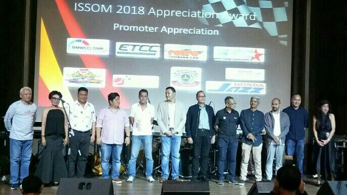 Para promotor balap yang tetap konsisten meramaikan ISSOM di Sentul. (foto : hilary)