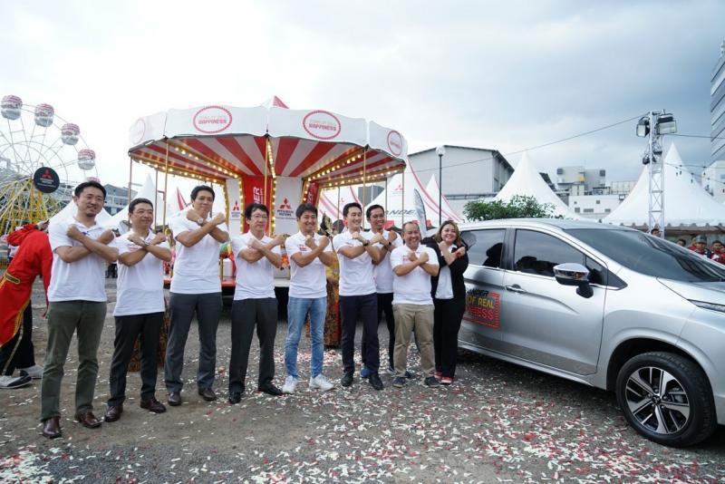 Bandung jadi kota ke-8 dari rangkaian kampanye XPANDER Tons of Real Happiness. (foto: ist)