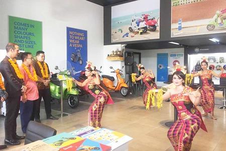 Kini Piaggio Indonesia memiliki lima diler di Pulau Dewata. (foto: ist)