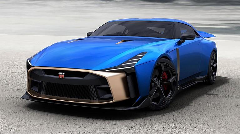 Nissan GT-R50 Italdesign hanya diproduksi 50 unit saja. (foto: Carscoop)