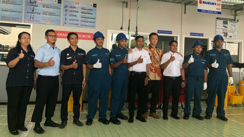 Pembukaan 2 outlet baru Suzuki di Kabupaten Gowa, Sulawesi Selatan. (foto : ist)