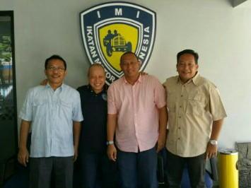 Dari kiri : Robert Batubara, Jeffrey JP,  Anondo Eko dan Dodi Irawan. (foto : ist)