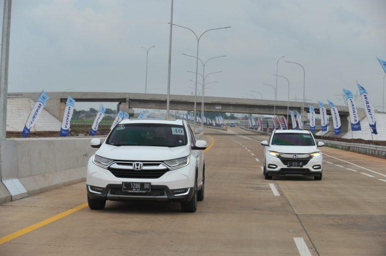 Ketangguhan All New Honda CR-V diuji di Tol Trans Jawa, setelah melintasi 34 Provinsi. (foto: ist)