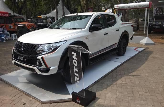 Mitsubishi Triton Athlete jadi favorit di kalangan pehobi. (foto: anto)