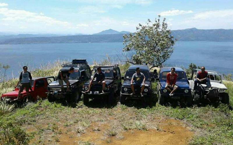 Keindahan Danau Singkarak jadi destinasi SKIn. (foto : meddy)