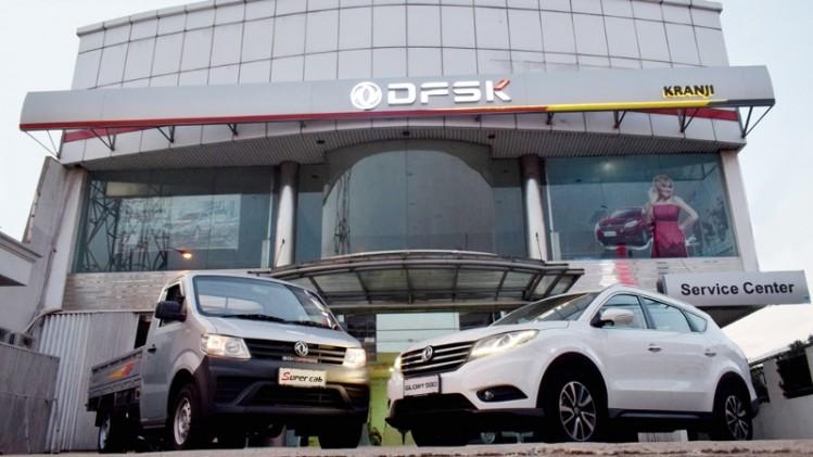 Diler DFSK di Kranji Bekasi dilengkapi fasilitas layanan purna jual yang lengkap. (foto: ist)