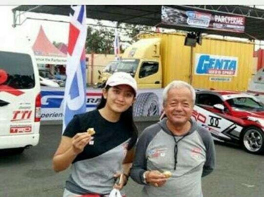 Memet Djumhana dan Alinka Hardianti, TTI tertarik turun di sprint rally. (foto : bs)