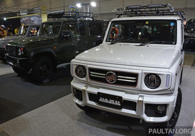 Modifikasi Jimny ala DAMD, mirip mini G-Class (foto: paultan)