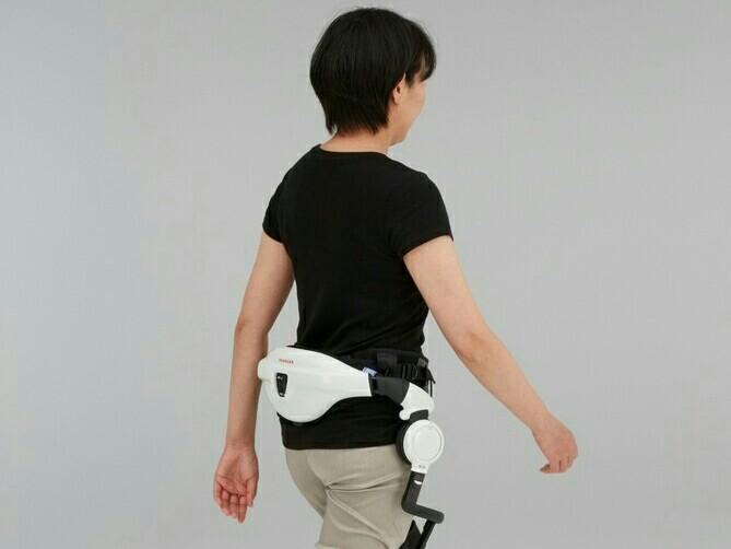 Honda Walking Assist bisa mendeteksi sendi pinggul dan menyehatkan. (foto : ist)