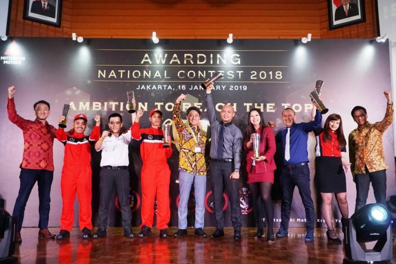 Kompetisi ini diharapkan dapat memberikan layanan terbaik dan tingkat kepuasan tinggi bagi pelanggan Mitsubishi. (foto: istimewa)