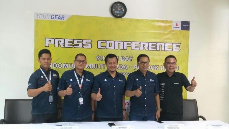Suzuki day di Pondok Indah Jaksel sukses libatkan 332 kendaraan menikmati layanan bebas biaya. (foto : ist)