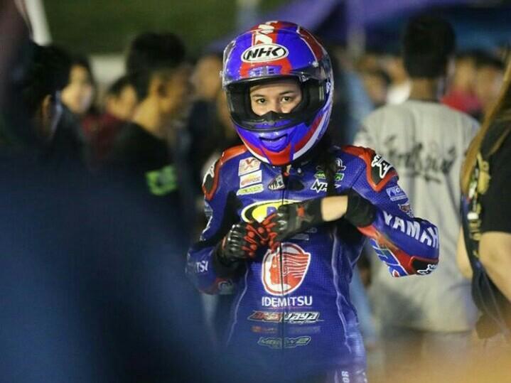 Sabrina Sameh, dari balap motor ke balap mobil. (foto : ist)