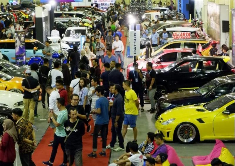 Penyelenggaraan Indonesia Modification Expo (IMX) 2018 di Balai Kartini, Jakarta