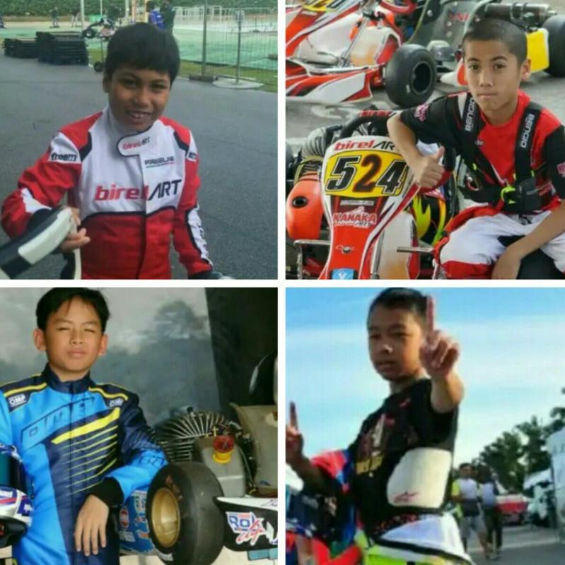 Dari atas searah jarum jam : Daffa AB, Kemas Bintang, Aditya Wibowo dan Michael Orlando. (foto : kolase)