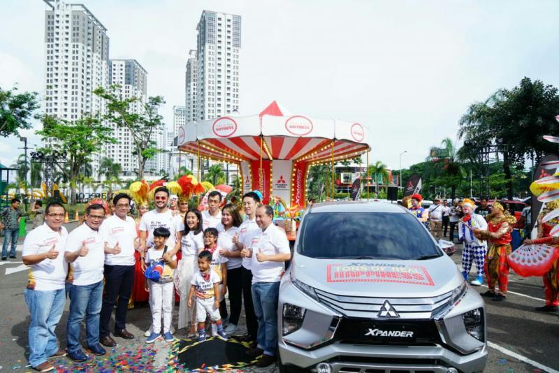 Xpander Tons of Real Happiness akan ditutup dengan seabreg acara di Summarecon Mal Serpong Tangerang. (foto : ist)