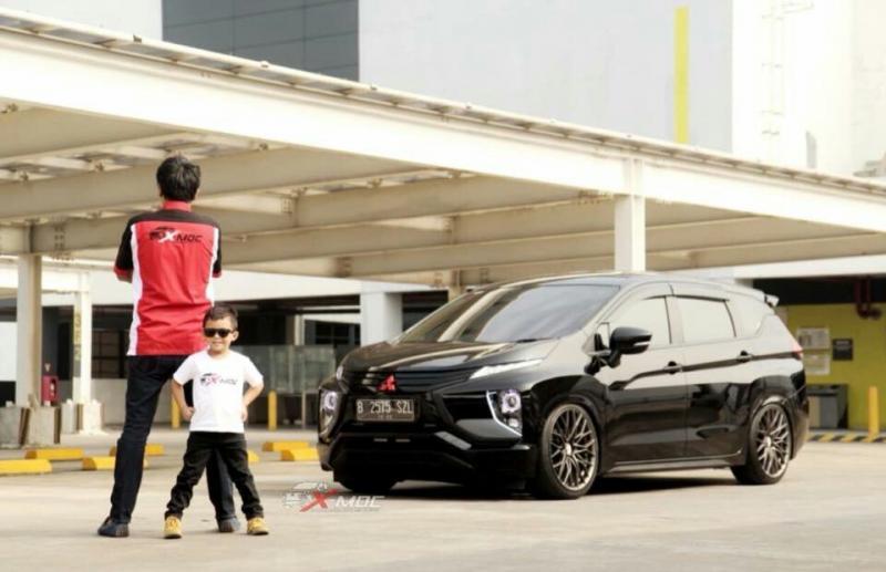 Salah satu mobil modifikasi Xpander di Xpander Tons Real Happines di SMS Tangerang. (foto : ist)