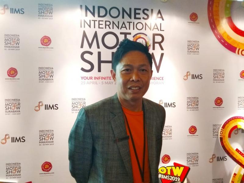 Kohen, yang ada di IIMS Jakarta dalam skala tertentu akan dibawa ke Makassar dan Surabaya. (anto)