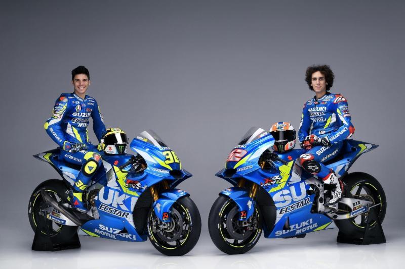 Diperkuat pebalap bertalenta, Alex Rins (#42) dan pebalap muda yang memulai debutnya di MotoGP tahun ini, Joan Mir (#36). (ist)