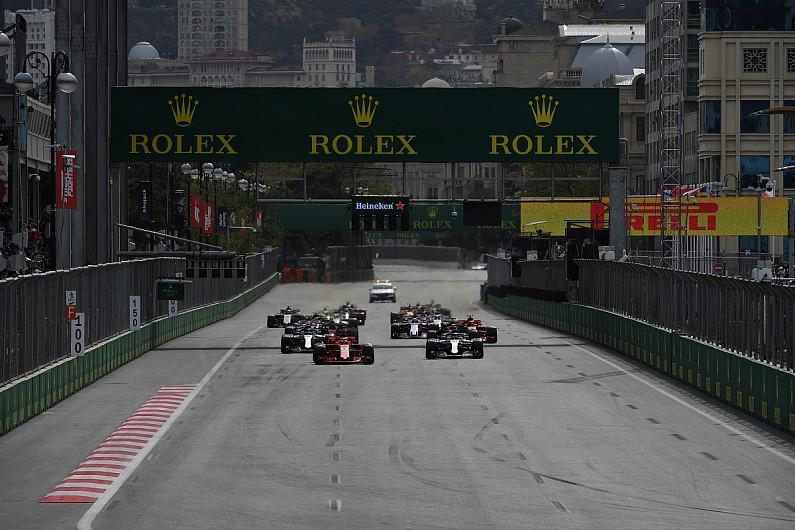 F1 GP Azerbaijan di Sirkuit Jalan Raya Kota Baku, juga dinyatakan ditunda. (ist)