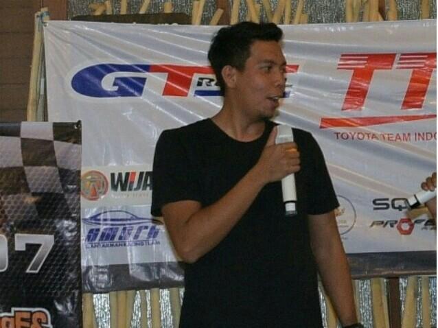 M Irdam, sandang Most Fave Drift Driver versi Racing4net. (foto : bs)