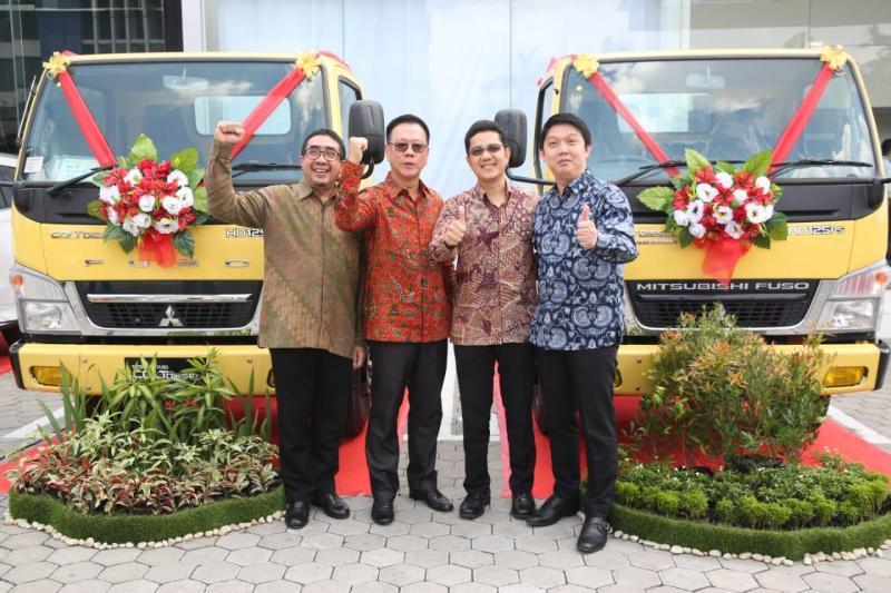 selama tahun 2018 lalu, KTB Fuso telah mencapai pangsa pasar sebesar 69 % di area Sumatera Utara.