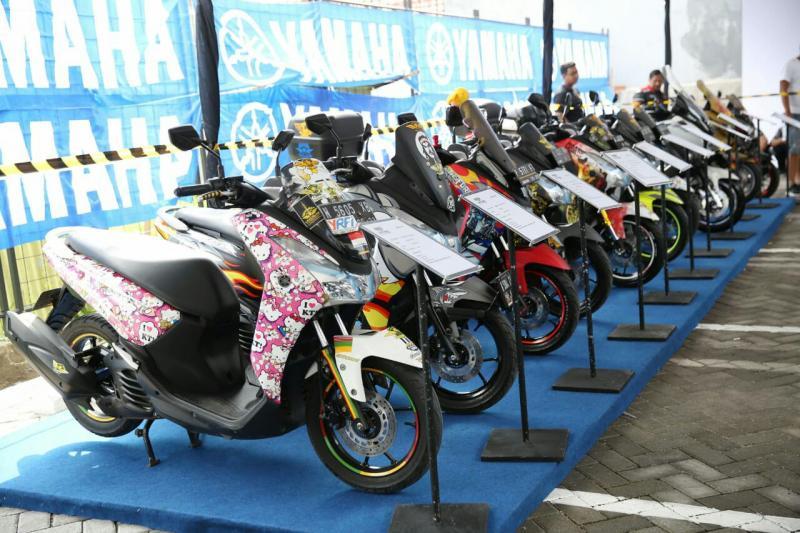 Kontes modifikasi Yamaha dengan label CustoMaxi siap digelar di Bandung. (foto : ist)